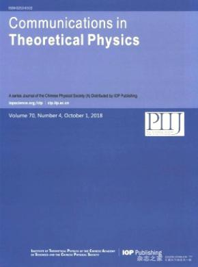 Communications in Theoretical Physics
